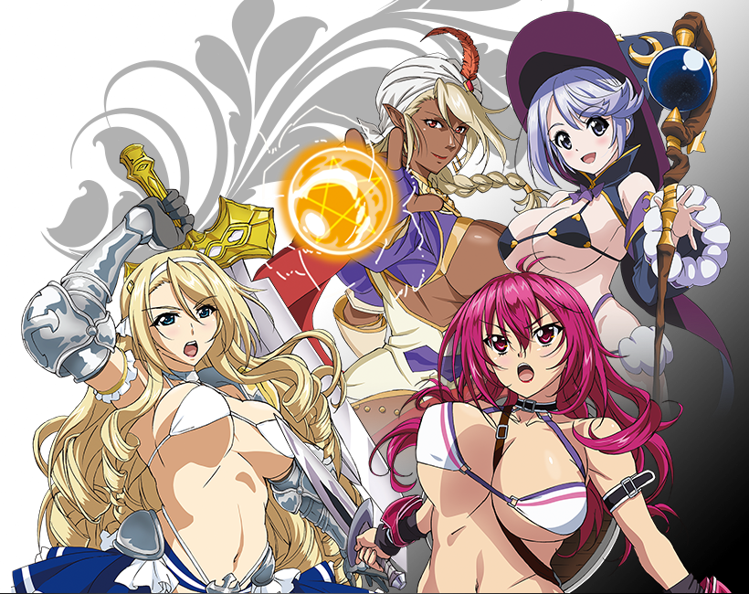 Bikini-Warriors-second-anime-visual
