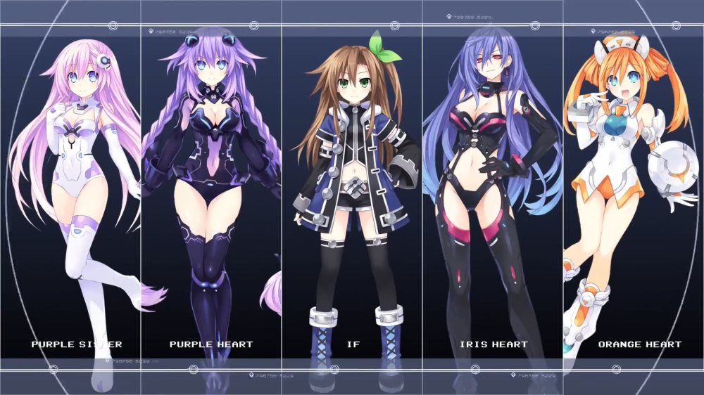Neptunia-vs-Hard-Girls-Opening-IF-group